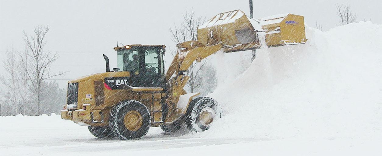 snow plowing muskegon